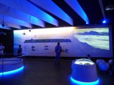 première salle d'exposition : le volcanisme